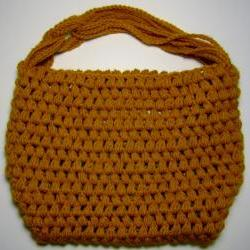 Slouchy Hobo - Yellow